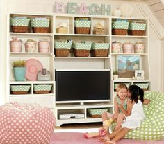 Cute for a small playroom - love how adorable it is!.