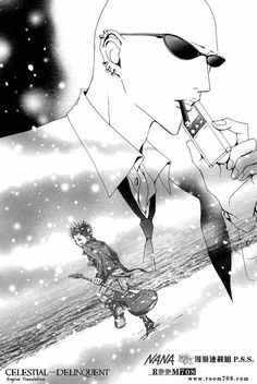 Nana Manga( Yasu find out what happens to Ren)