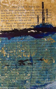 printmaking without a press with Linda Germain: Quick links to Gelatin Printing…