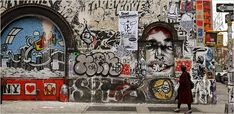 Article about a building that was used as a graffiti space before it changed into a condo.