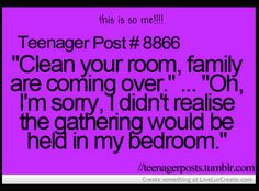 Teenager Post#8866( HAHA NO!!!!) | Publish with Glogster!