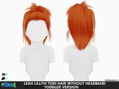 Leah lillith tori hair without headband toddler version - los sims 4 Sims 4 Toddler Clothes, Sims 4 Cc Kids Clothing, Sims 4 Mods Clothes, Sims Mods, Toddler Shoes, Children Clothing, Toddler Outfits, Toddler Girls, Toddler Cc Sims 4