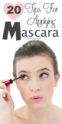 Here are a few tips to get the most out of your mascara!