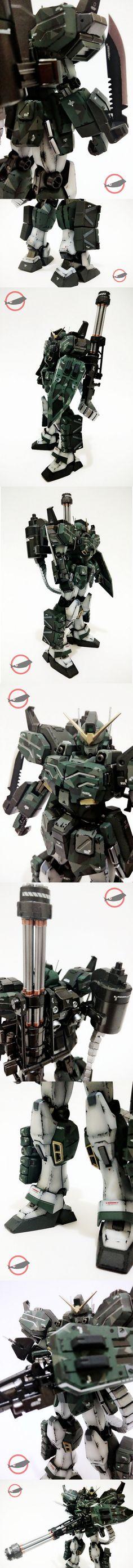 Gundam Heavyarms Guerilla Warfare Detail Looks 1