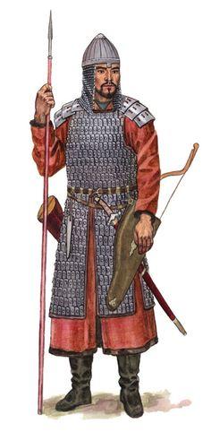 Kimak Warrior