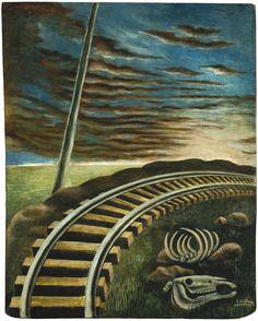 """thunderstruck9: """" Antonio Ruíz (El Corcito) (Mexican, 1897-1964), El Cementerio, c.1955. Oil on masonite, 11 x 9 in. """""""