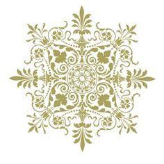Green stencil