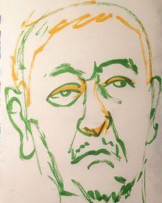 いいね!20件、コメント1件 ― @1mindrawのInstagramアカウント: 「#1mindraw #matsumotohitoshi #松本人志 #ダウンタウン #comedian #コメディアン #19630908 #birthday #誕生日 #portrait #似顔絵…」