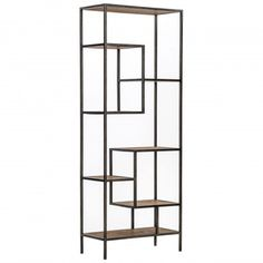 "Helena 84"" Bookcase - Natural Beauty - Living Room - Room Ideas"