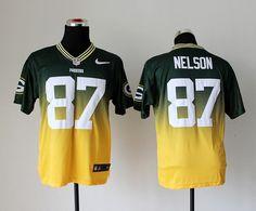 NFL Jersey's Women's Green Bay Packers Jordy Nelson Nike Green Limited Jersey