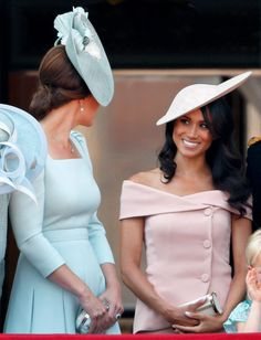 Meghan Markle's baby 'will change everything' between her and Kate Middleton, claims royal biographer Prince Harry And Megan, Prince William And Kate, Princess Kate, Duchess Kate, Duchess Of Cambridge, Trooping The Colour 2018, Meghan Markle Stil, Kate And Meghan, Queen Birthday