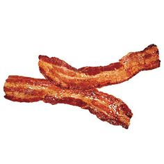Cooking bacon in the oven yields perfect, crispy slices and allows it to sit above its rendered fat.