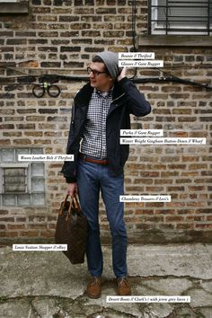 Anatomy of the quintessential laid-back look.
