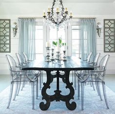 Charmant Acrylic Chair, Architecture Design, Dining Table, Homes, Nice Asses,  Architecture Layout