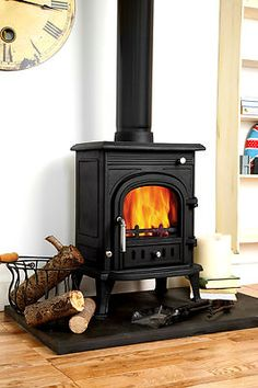 Coseyfire 5 Woodburning Stove Stoves Woodburner Multi fuel 5kw Burner Cast iron | eBay