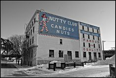 Nutty Club, Winnipeg. The Nutty Club Man has been a downtown fixture for decades.