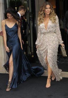 Fabulously Spotted: Kendall Jenner Wearing Johanna Johnson - Kardashian West Wedding Paris Party - http://www.becauseiamfabulous.com/2014/05/kendall-jenner-wearing-johanna-johnson-kardashian-west-wedding-paris-party/