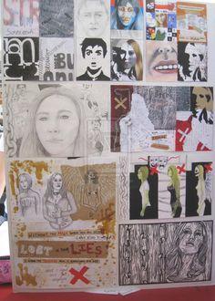 L1NCEA art - full 1st board by Manzie13.deviantart.com on @deviantART