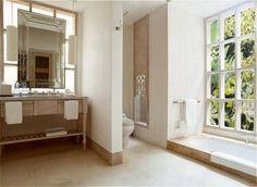 Great bathroom idea @ my favorite hotel: Uma Ubud, Bali, Indonesia