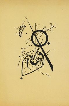 Wassily Kandinsky - Kleine Welten - 1920 #drawing #paper #art