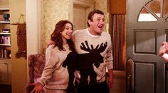 """When Marshall and Lily wear matching Halloween costumes and/or sweaters. 