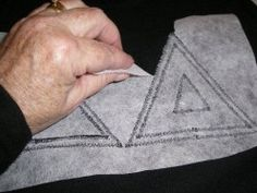 Make your own letter shirts