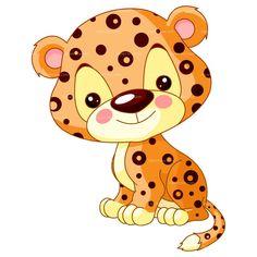 Illustration about Fun zoo. Illustration of cute Jaguar. Illustration of small, wild, offspring - 24268068