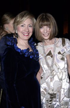 Anna Wintour Endorses Hillary Clinton for President in 2016