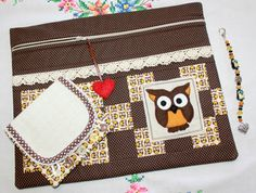 Limited Edition Handstitched Owl Cross Stitch Bag by sewmuch2luv, $85.00