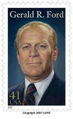 Gerald Ford becomes the 37th U.S. President today August 9, 1974