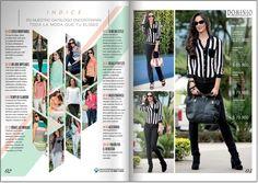 fashion magazine page layout - Google Search