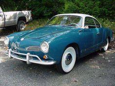 Beautifully Restored Vintage Volkswagen Karmann Ghia Coupe