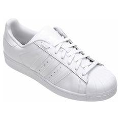 02257bd9e32 Tênis Adidas Star Foundation - Branco Tênis Adidas Feminino Branco