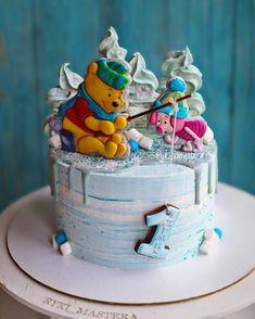 Buttercream Cake, Fondant Cakes, Cupcake Cakes, Cake Designs For Girl, Cool Cake Designs, Baby Birthday Cakes, Birthday Cake Decorating, Holiday Cakes, Novelty Cakes
