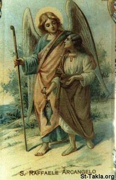 Archangel, St. Raphael (patron saint of happy meetings aka FUTURE HUSBAND)