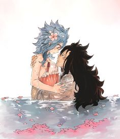 Fairy Tail (フェアリーテイル) - Gajeel x Levy ❤︎
