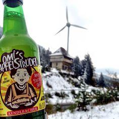 First snow of the year - Omi is in Austria <3 Omi loves you!  Erster Schnee des Jahres - Die Omi ist in Österreich <3 Die Omi hat euch lieb <3 #omisapfelstrudel #apfelstrudelsaft #vegan