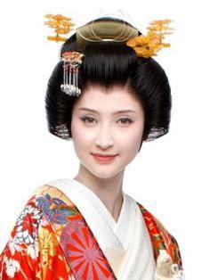 hair style bunkin-no-takashimada(文金高島田)