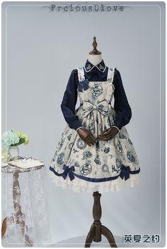 Precious Clove -Romantic Date- Lolita Jumper Dress Version I