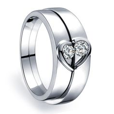 24 Best Wedding Rings Couple Wedding Rings Silver By Menjewell Com