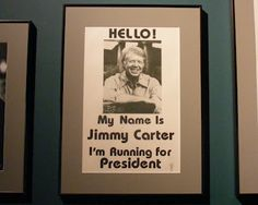 Jimmy Carter Presidential Library....been there!  Like the others, it's very interesting.