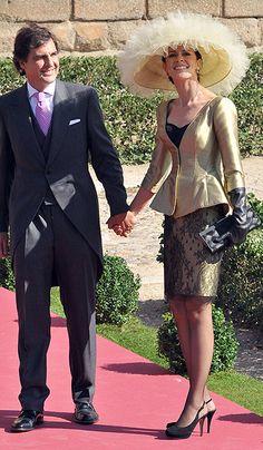 Vestidos de madrina de bodas de famosos