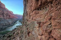 Nankoweap Granaries, Grand Canyon National Park Photo and caption by Bob Bush @Smithsonian Magazine