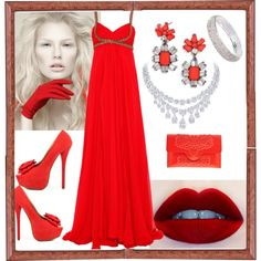 """Redelicious"" by nansg on Polyvore"
