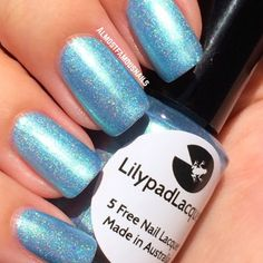 Lilypad Lacquer Sea Queen - Delicate Duos Collection (pinned from Almost Famous Nails). Bought from Llarowe, July 2014