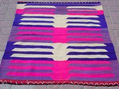 "VINTAGE Turkish Kilim Rug Carpet, Handwoven Kilim Rug,Antique Kelim Rug,Decorative Kelim Sofreh, Natural Wool  40,1"" X 40,9"""