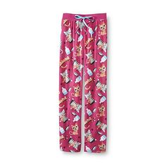 Joe Boxer Women's Fleece Pajama Pants - Cats