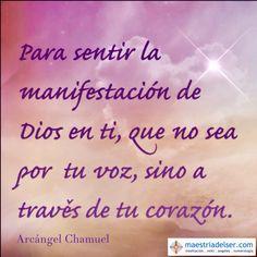 #mensajedelosángeles #arcángelchamuel #manifestación #dios #voz #corazón #manifestaciondedios #maestriadelser