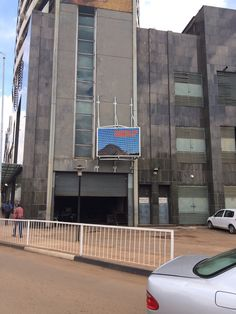 DC Media running an outdoor screen for NetOne Head Office in Harare, Zimbabwe. #digitalsignage