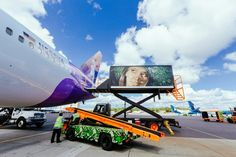 70 best ground handling images on pinterest airplanes apron and hawaiian airlines ground service vehicles in their new repaint 2014 fandeluxe Images